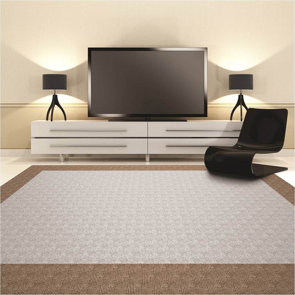 Prism 24'' X 24'' Premium Peel And Stick Carpet Tiles (Ocean Blue)