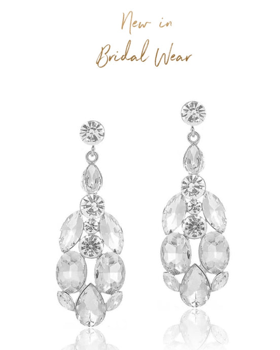 Zuva Rhinestone Bridal/Occasion Earrings