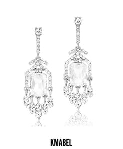 Bassam Rhinestone Bridal/Occasion Earrings