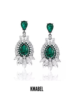 Zayah Rhinestone Bridal/Occasion Earrings