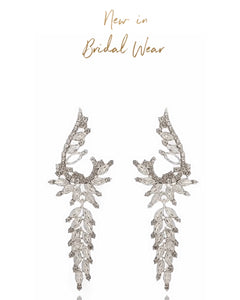 Velma Rhinestone Bridal/Occasion Earrings