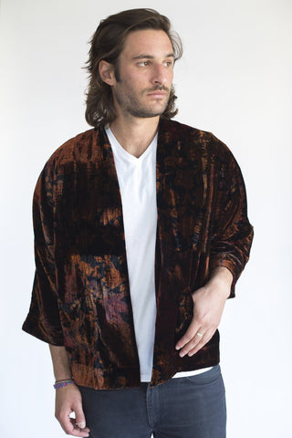 Mercurial Smoking Jacket - WaterandBird