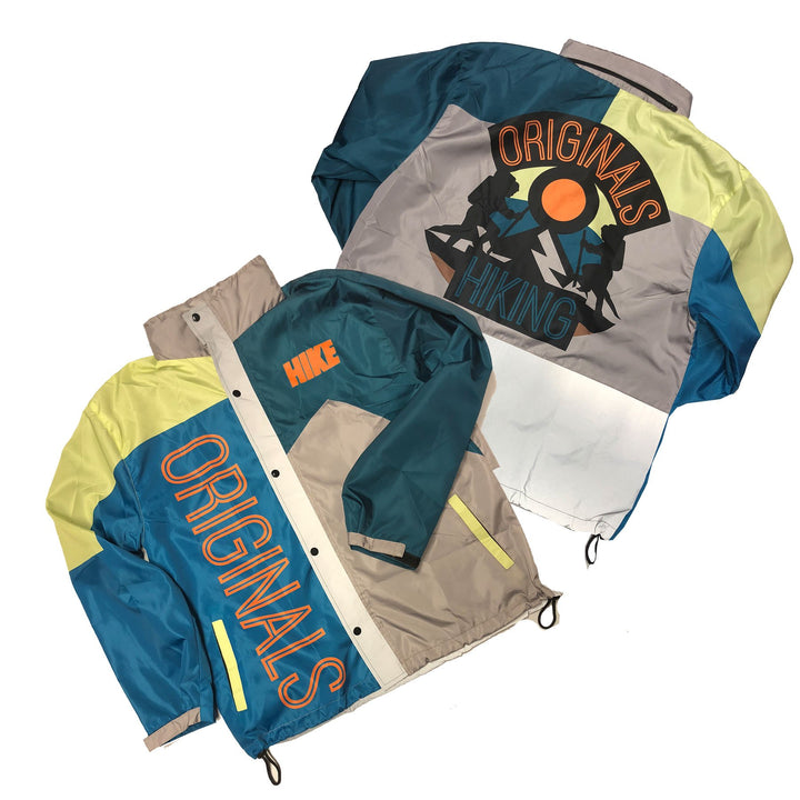 "Originals Hiking ""Reflective"" Windbreaker Jacket ""OG Teal"""