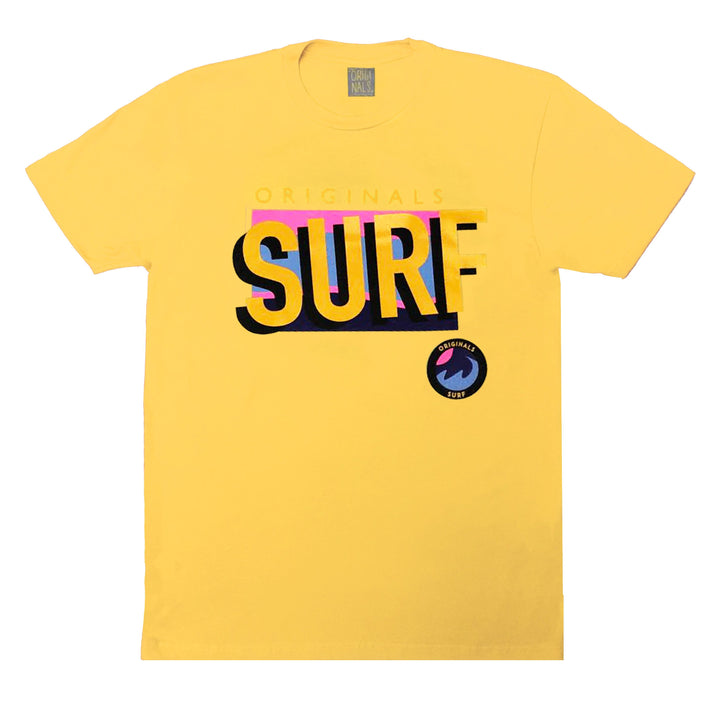 "Originals ""SURF"" T-Shirt "" Venice Maize"""