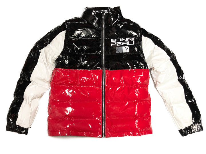 KIY x BANNI PERU Bomber Collab (Black /Red/ White)
