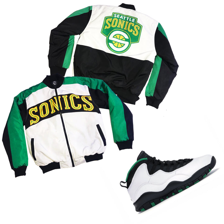 "Nostalgic Club ""Seattle"" Jacket"