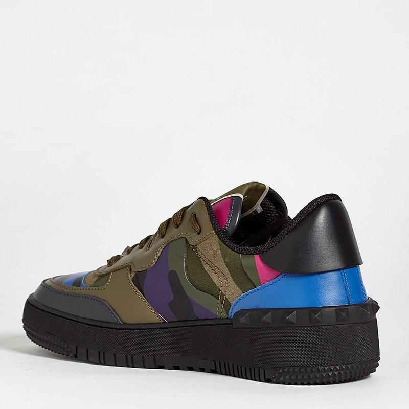 Valentino Sneakers Green/Blue/Maroon
