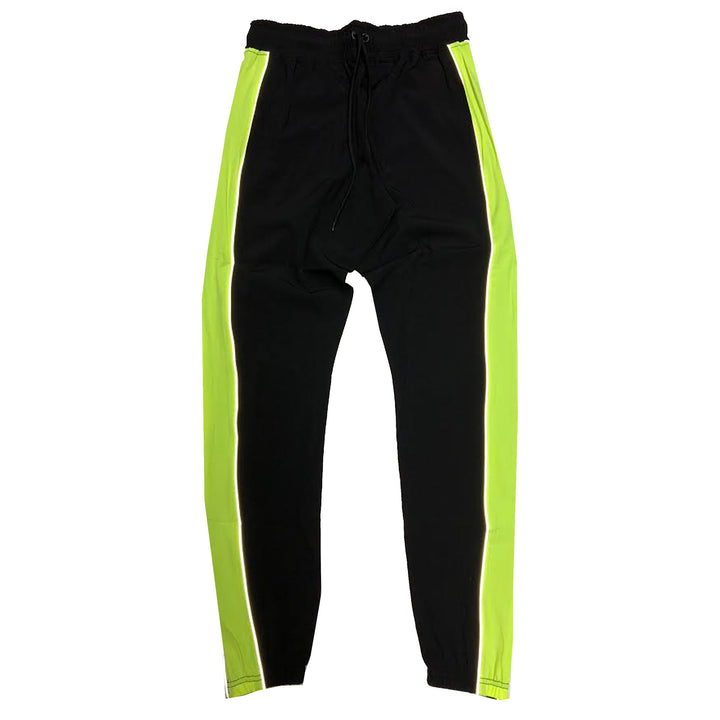 "ByKiy ""Everyday"" 3M (Reflective) StretchBreaker Pant ""Black/Neon"""