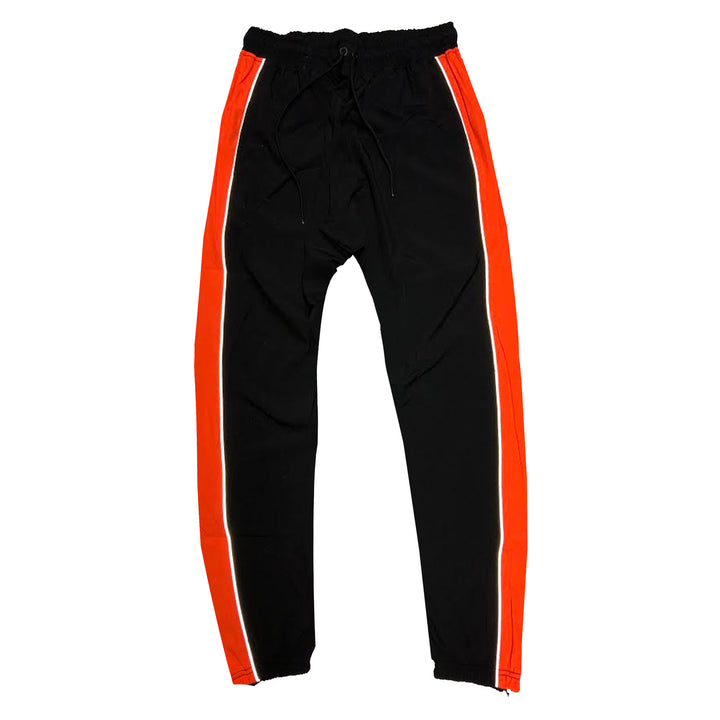 "ByKiy ""Everyday"" 3M (Reflective) StretchBreaker Pant ""Black/Orange"""