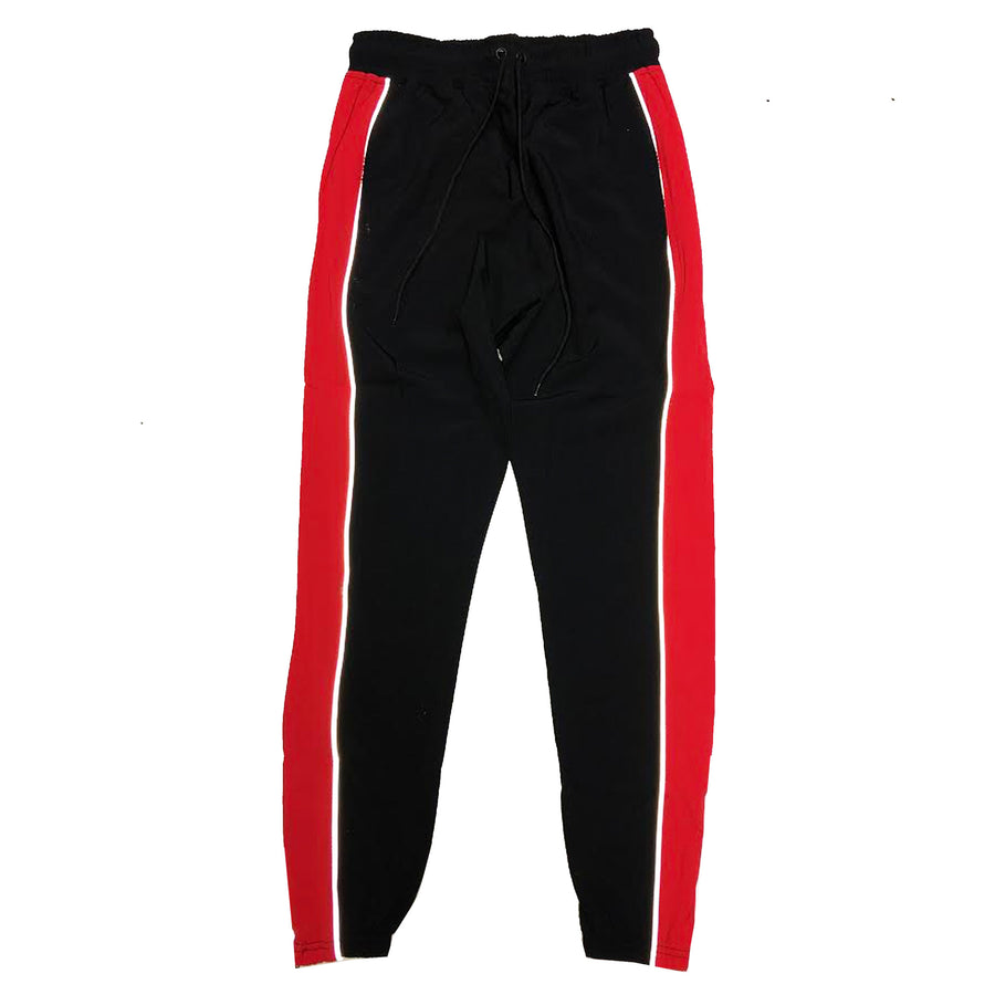 "ByKiy ""Everyday"" 3M (Reflective) StretchBreaker Pant ""Black/Red"""
