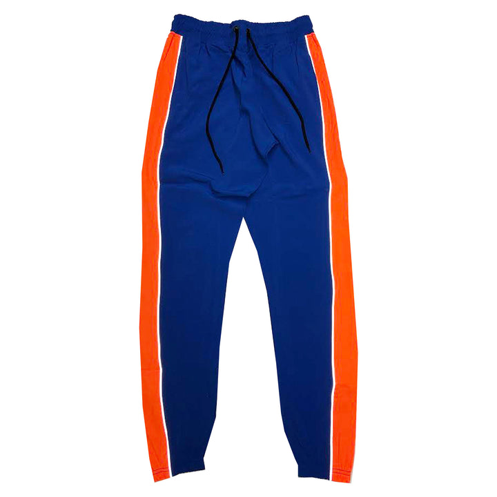 "BYKIY ""EVERYDAY"" 3M (REFLECTIVE) STRETCHBREAKER PANT ""ROYAL/ORANGE"""
