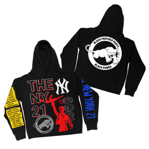 "By Kiy x David Weeks NYC ""THE PANTHER 21"" Hoodie"