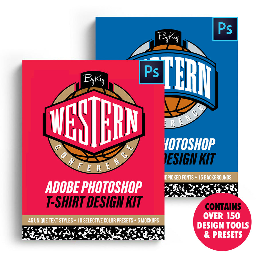 Eastern & Western Conference T-Shirt Design Kit (Physical)