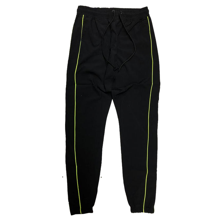 "ByKiy ""Everyday"" StretchBreaker Pant ""Black/Volt Line"""
