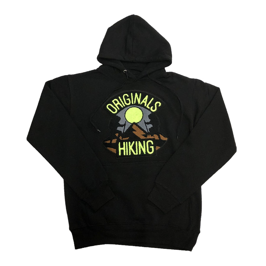 "Originals Hiking Series ""Mauve"" Black Hoodie"