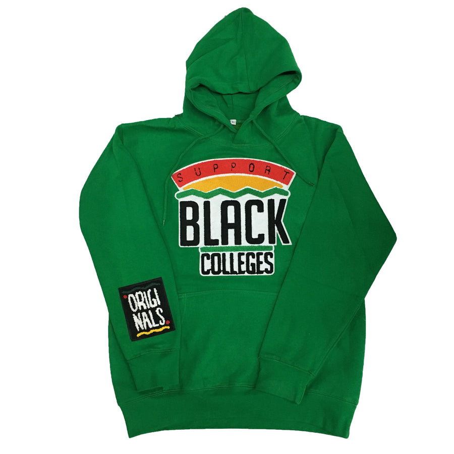 "Originals ""Support Black Colleges"" Hoodie ""Kelly Green"""