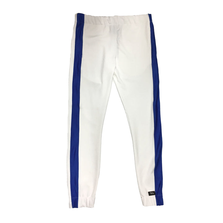 "By Kiy Track Pant ""USA"" Edition White/Royal"