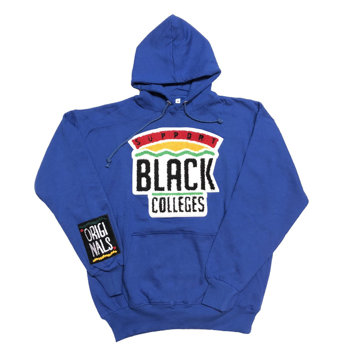 "Originals ""Support Black Colleges"" Hoodie ""Cobalt"""