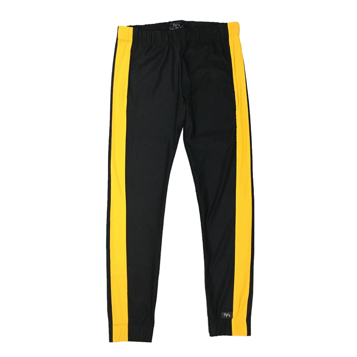 "By Kiy Track Pant ""USA"" Edition Black/Yellow"