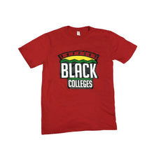 "Load image into Gallery viewer, Originals ""Support Black Colleges"" Tour Short Sleeve ""Red"""