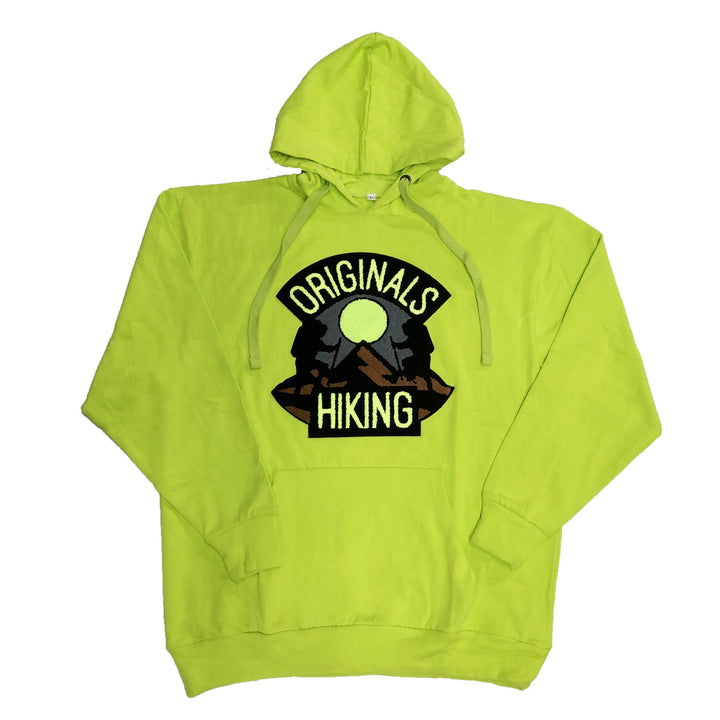 "Originals Hiking Series ""Mauve"" Lime Hoodie"