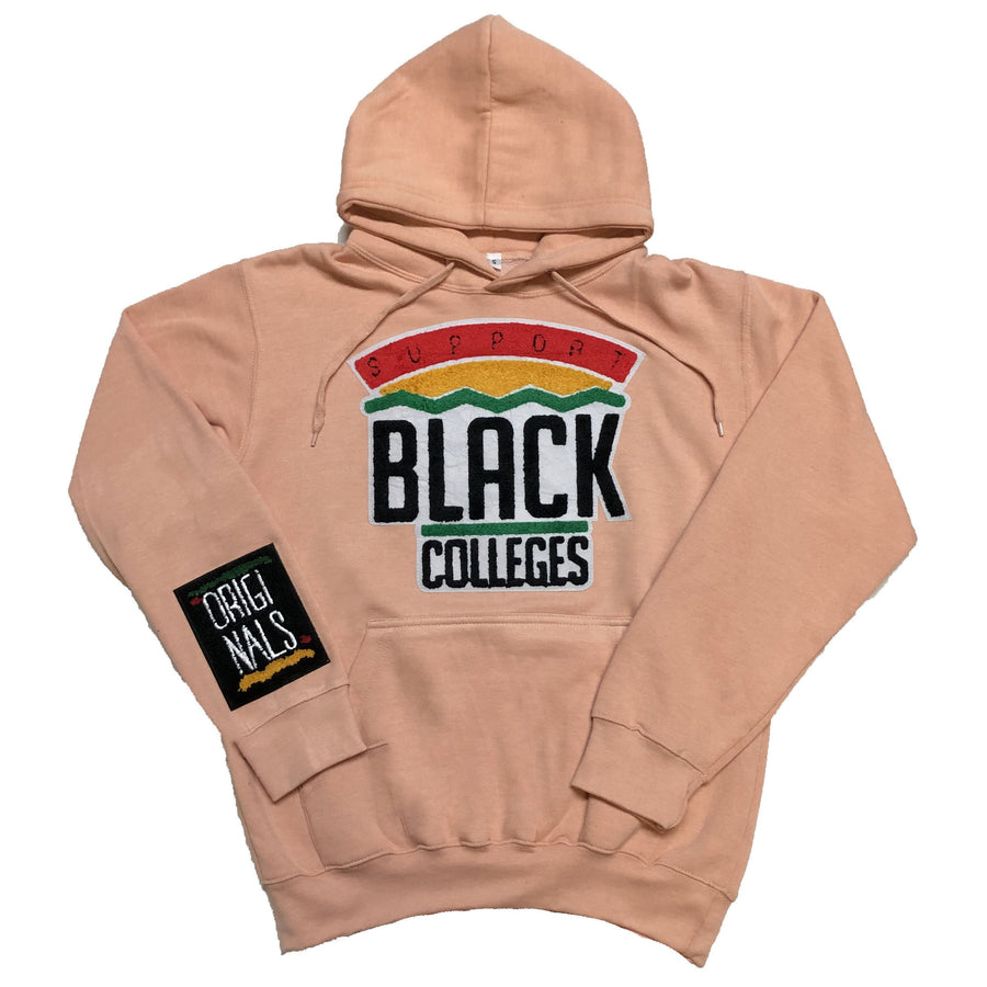 "Originals ""Support Black Colleges"" Hoodie ""Pastel Peach"""
