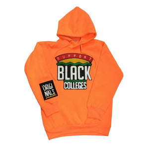 "Originals ""Support Black Colleges"" Hoodie ""Orange"""