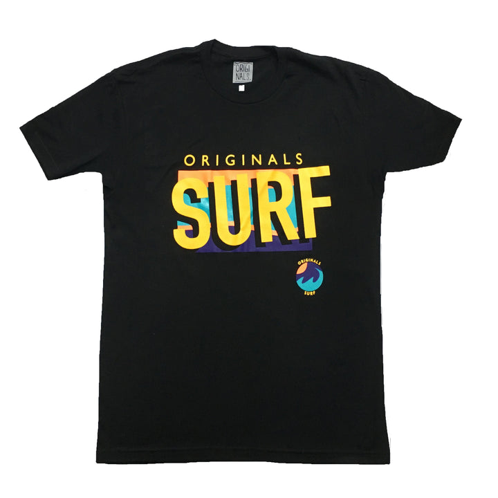 "Originals ""SURF"" T-Shirt ""Cancun Black"""