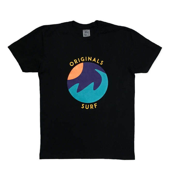 "Originals ""SURF"" Emblem T-Shirt ""Cancun Black"""