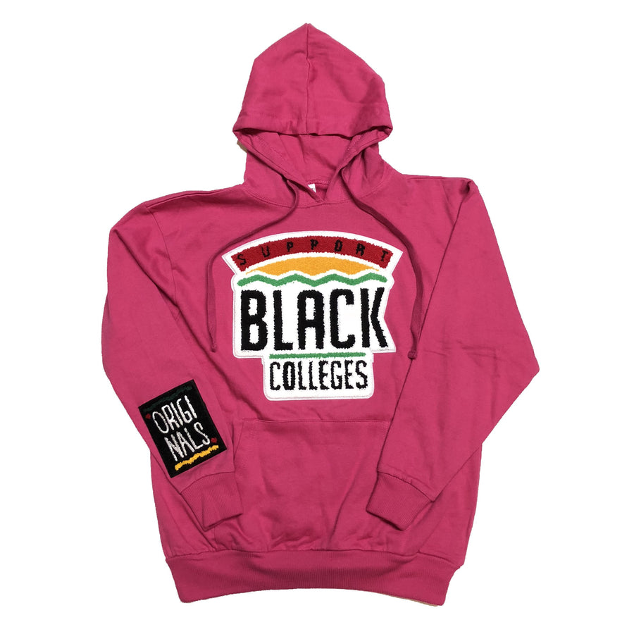 "Originals ""Support Black Colleges"" Hoodie ""Pink"""
