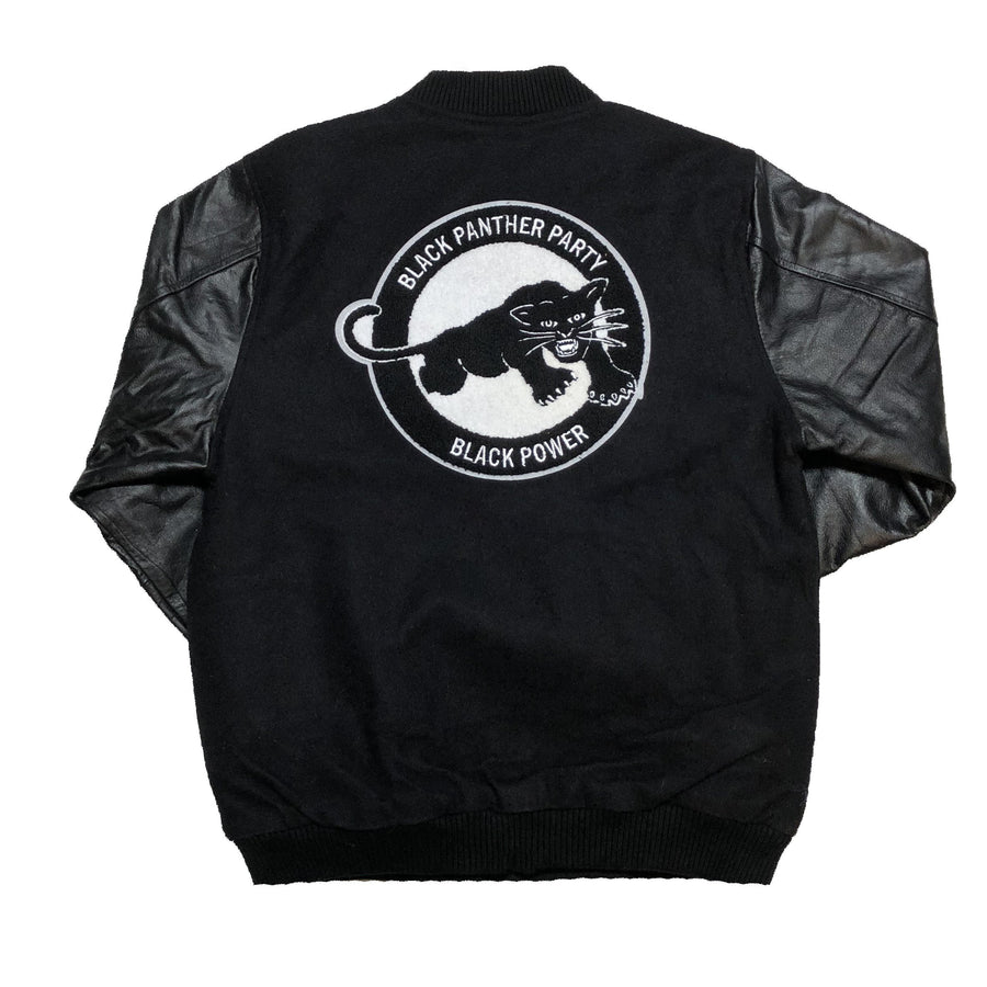 Originals Black Panther Varsity Jacket (Real Leather)