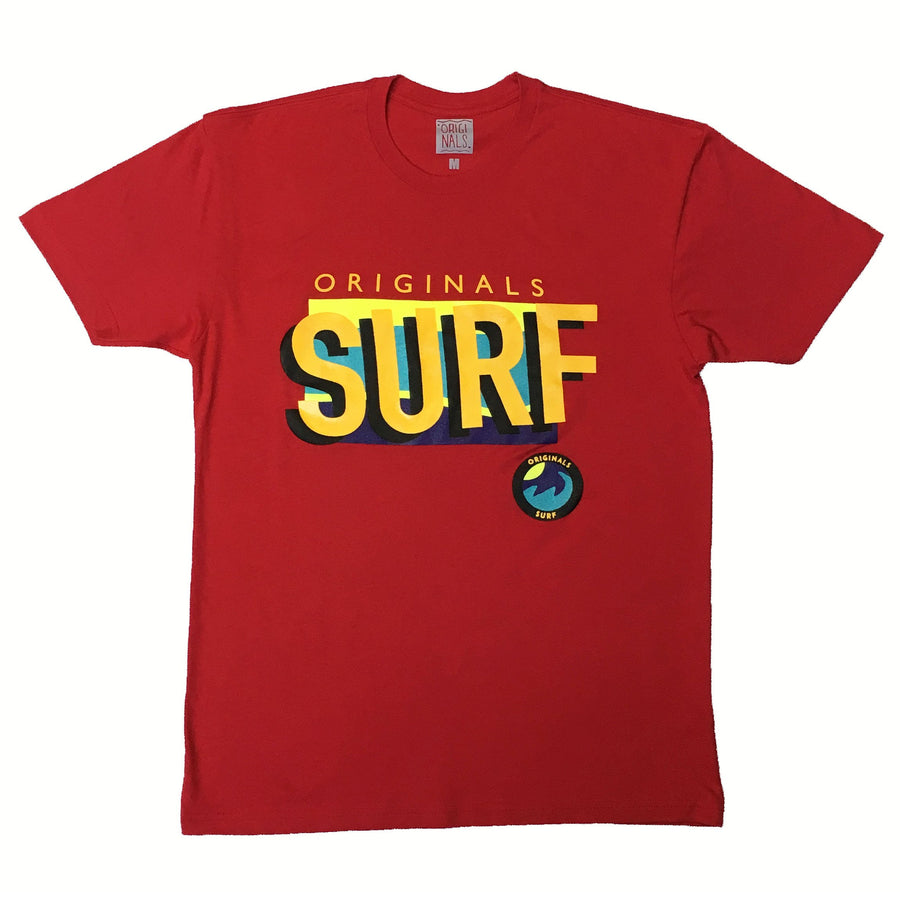 "*LIMITED EDITION* Originals ""SURF"" T-Shirt ""Red"""