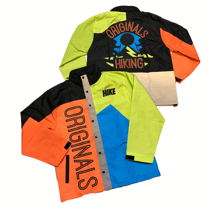 "Originals Hiking ""Reflective"" Windbreaker Jacket ""Orange Blast"""