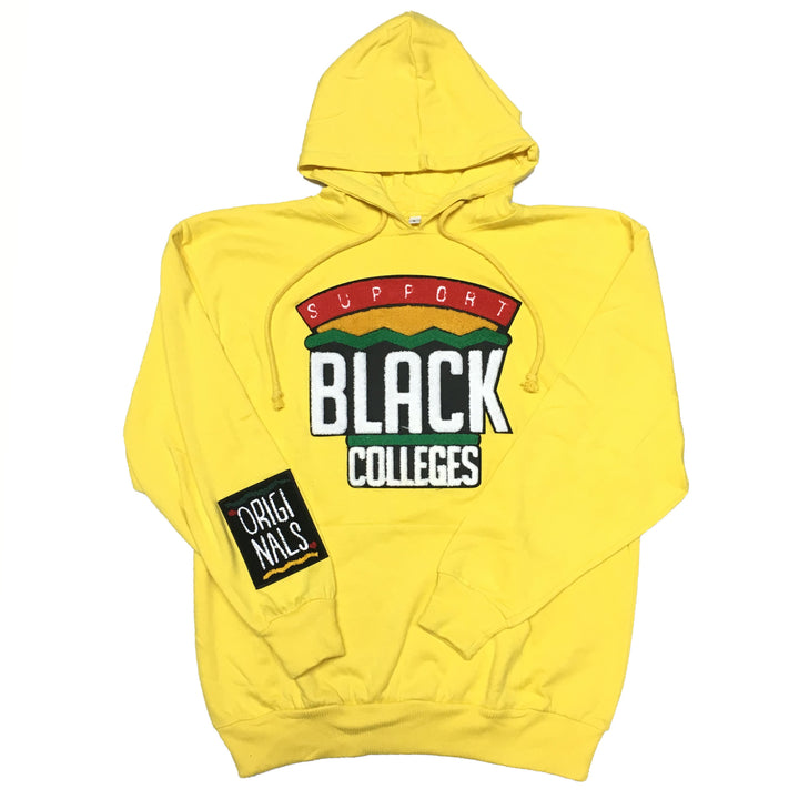 "Originals ""Support Black Colleges"" Hoodie ""Yellow"""