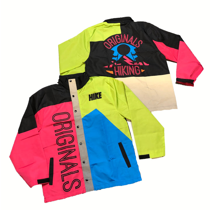 "Originals Hiking ""Reflective"" Windbreaker Jacket ""Retro"""