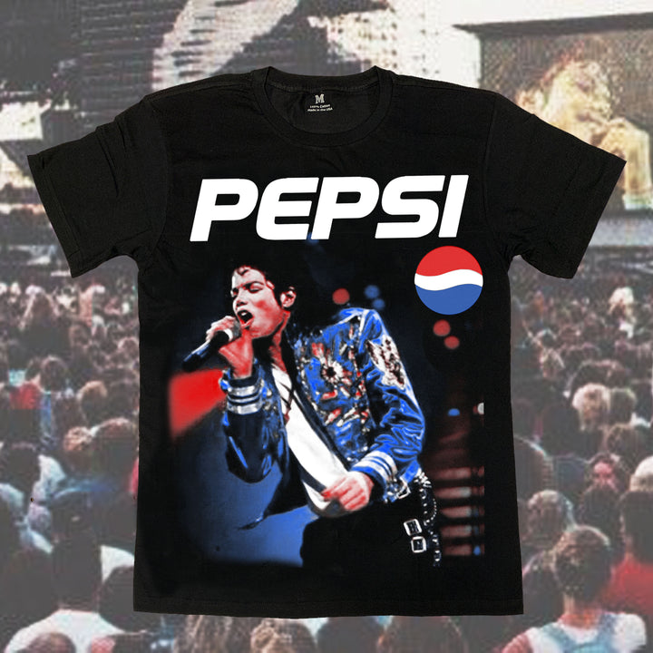 MJ Cola Tour 2 Vintage T-Shirt