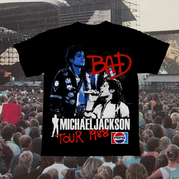 MJ Cola Tour Vintage T-Shirt