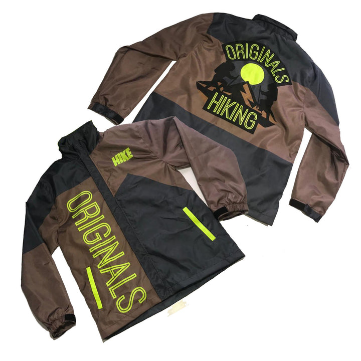 "Originals Hiking ""Reflective"" Windbreaker Jacket ""Mauve"""