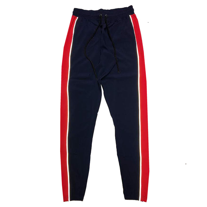"ByKiy ""Everyday"" 3M (Reflective) StretchBreaker Pant ""Navy/Red"""