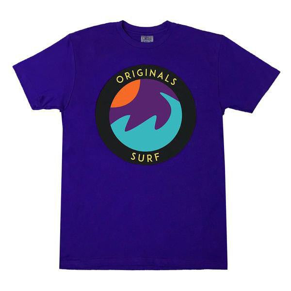 "Originals ""SURF"" Emblem T-Shirt ""Cancun Purple"""