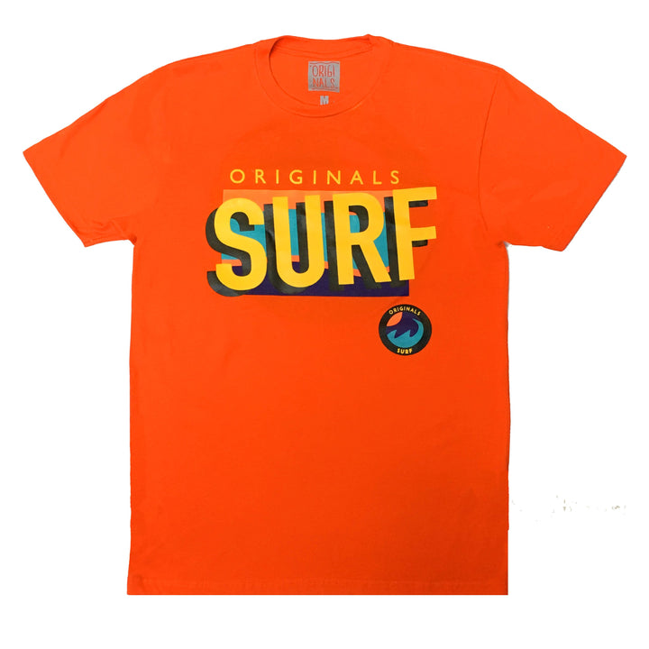 "Originals ""SURF"" T-Shirt ""Cancun Orange"""