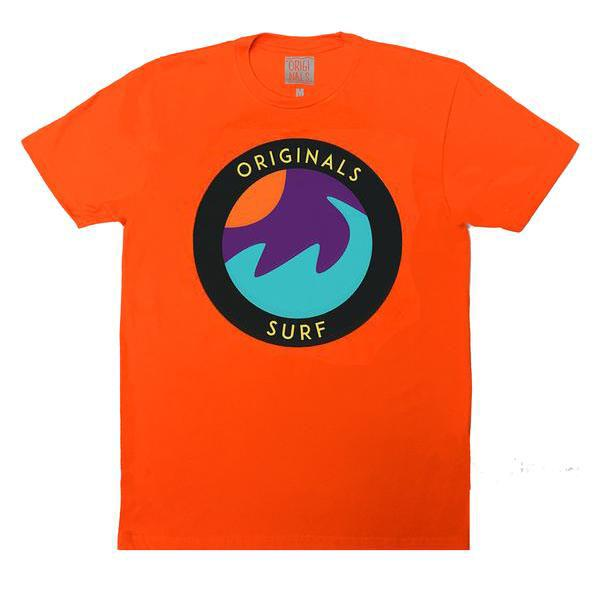 "Originals ""SURF"" Emblem T-Shirt ""Cancun Orange"""