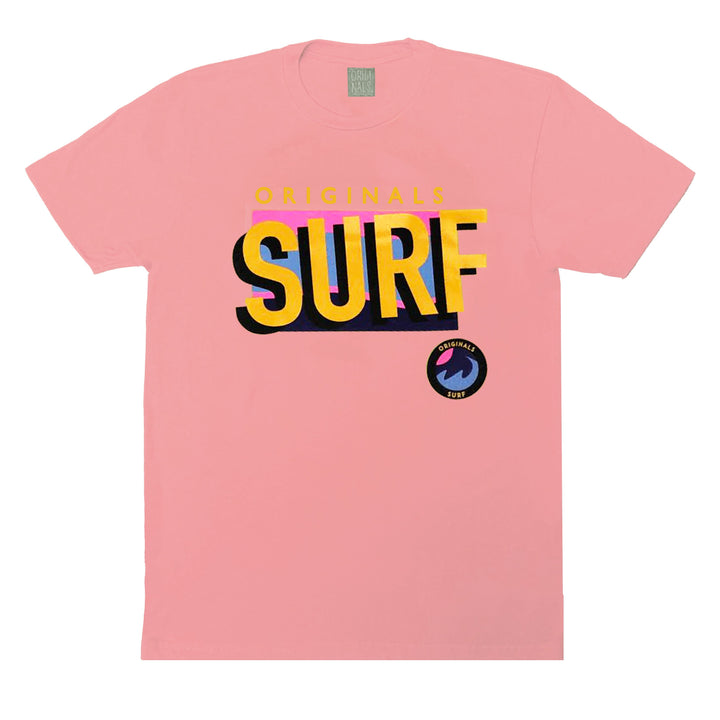 "Originals ""SURF"" T-Shirt ""Venice Soft Pink"""
