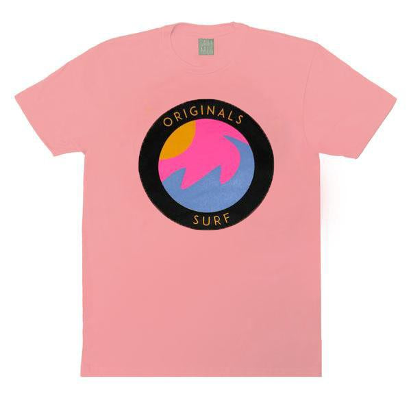"Originals ""SURF"" Emblem T-Shirt ""Venice Soft Pink"""