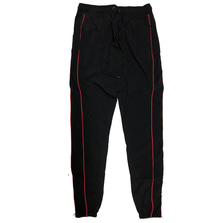"ByKiy ""Everyday"" StretchBreaker Pant ""Black/Red Line"""