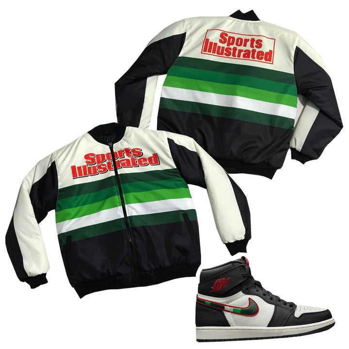 "Nostalgic Club ""Sports Illustrated"" Racing Jacket"
