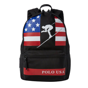 "Ralph Lauren Polo ""Down Hill Ski"" Book Bag"