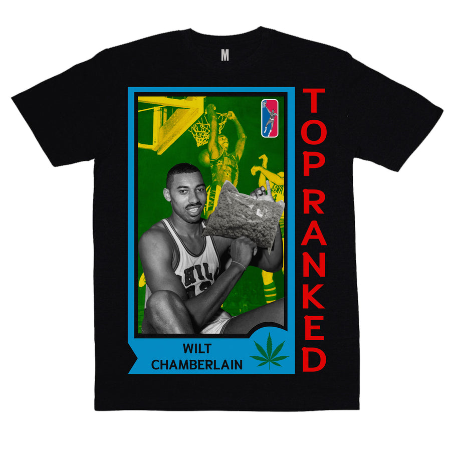 "Top Ranked ""Wilt Chamberlain"" Vintage T-Shirt"