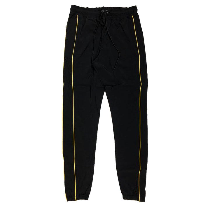 "ByKiy ""Everyday"" StretchBreaker Pant ""Black/Yellow Line"""