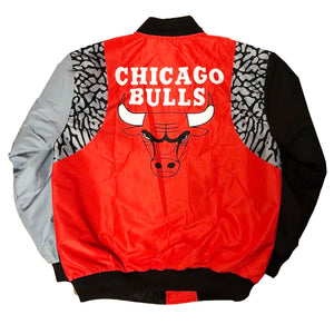 "Nostalgic Club ""Cement Bull"" Jacket ""Red"""